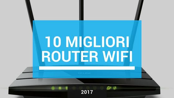il miglior router wifi