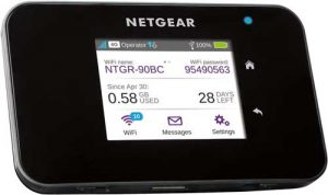 router mobile netgear ac810